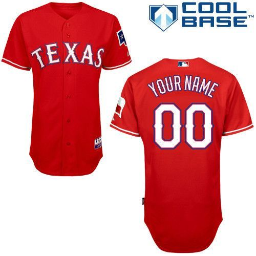 san francisco d4607 62dd4 MLB Customize Texas Rangers red Jerseys.,cheap mlb jerseys ...