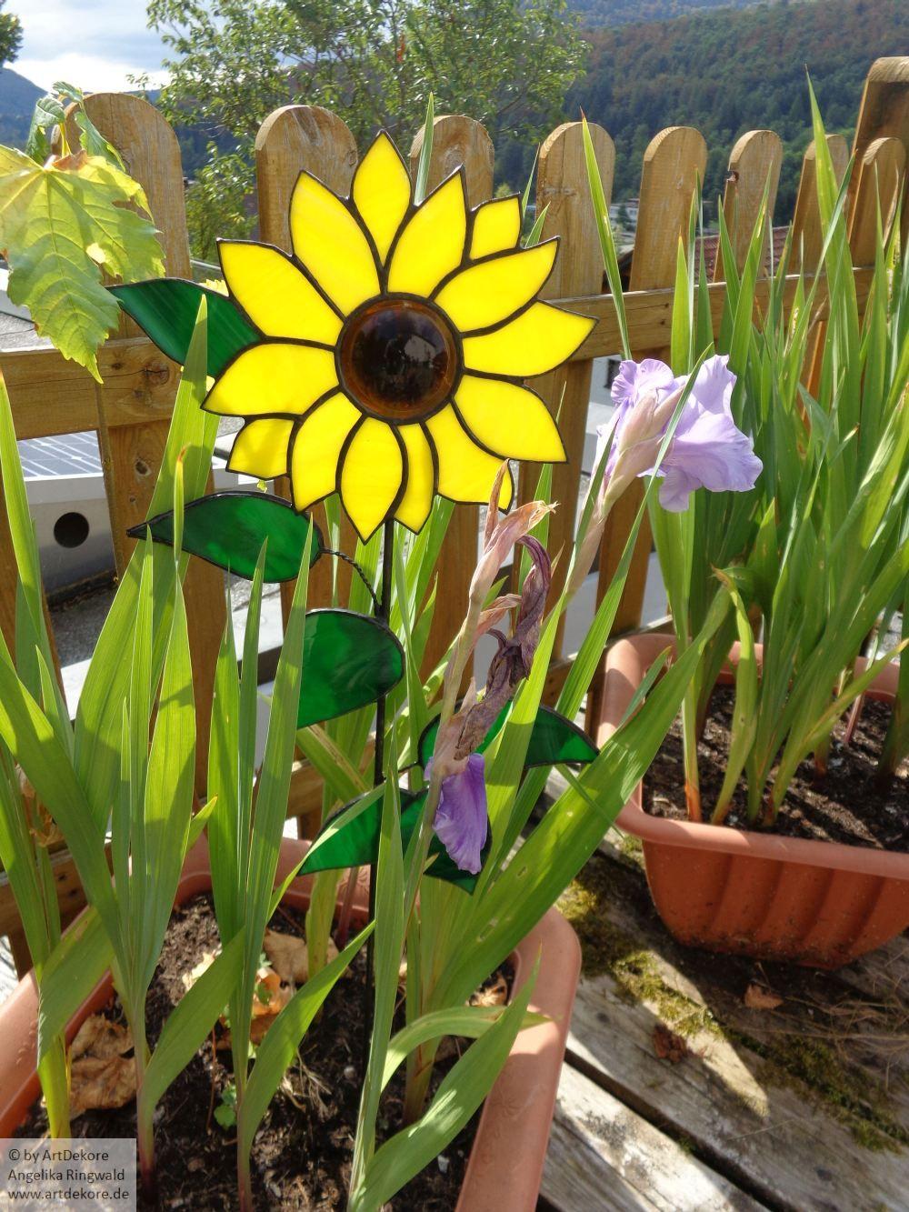Große Sonnenblume - bereits verkauft. Ich fertige Ihnen aber gern ...