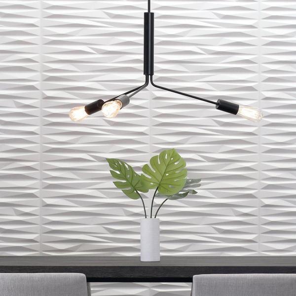 Beadboard As An Accent Wall Behind A Fireplace: Split Wall Flats - 3D Wall Panels