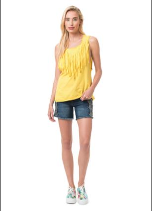 Look d'été #summer #look #yellow #fashion #mode