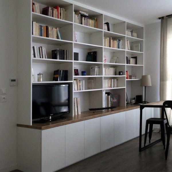 bibliotheque b library books biblioth que salon salon et meuble biblioth que. Black Bedroom Furniture Sets. Home Design Ideas