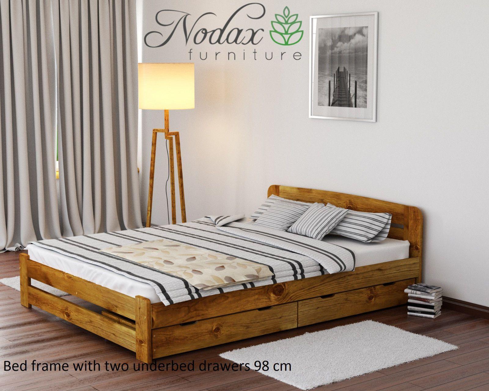 Details About Solid Pine 6ft Super King Size Bed Frame Slats