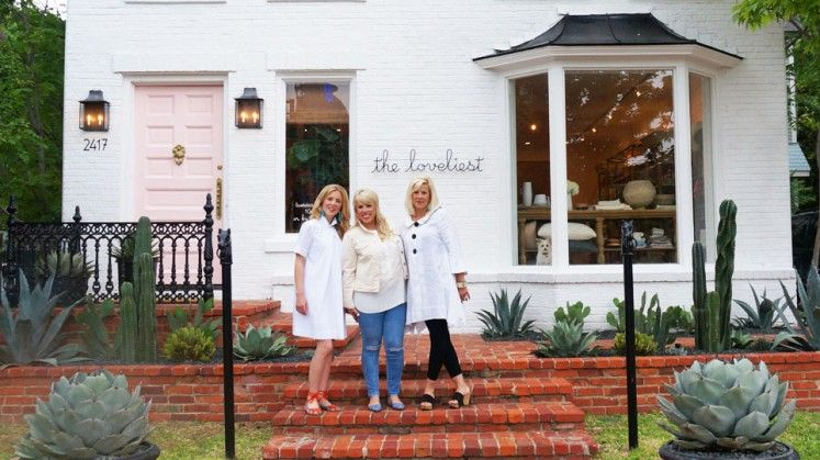 I love this darling little shop Home and Embroidery Shop The Loveliest Now Open in Uptown   D Home