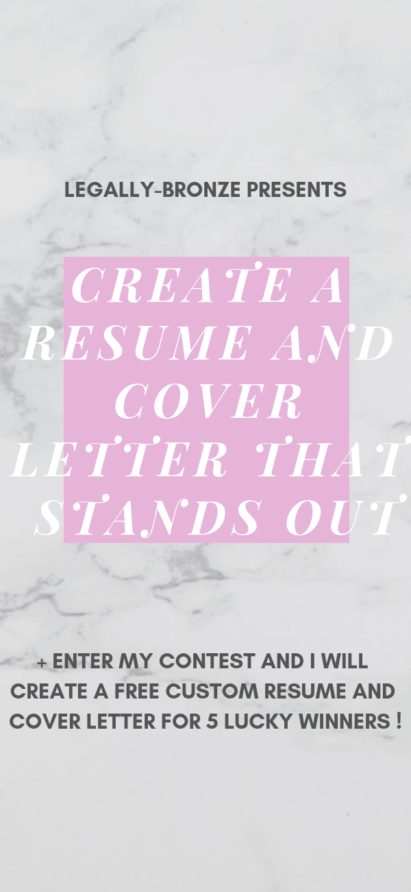 Stand out with a perfect Resume and Cover Letter