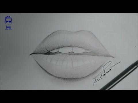 تعلم رسم الوجه بالرصاص للمبتدئين مع خطوات بسيطة Youtube Pencil Art Drawings Pencil Drawings Drawings