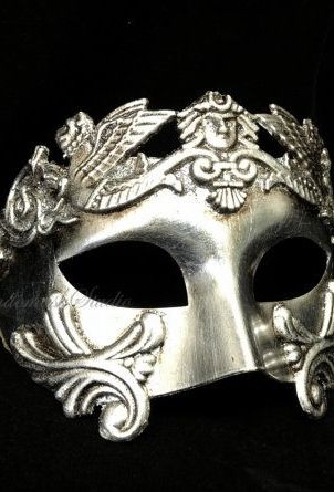 Tamlin S Mask With Images Mens Masquerade Mask Gold