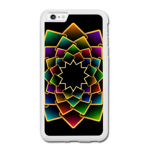 Creative Colorful Abstract Rangoli Iphone 6 Plus Rubber Case