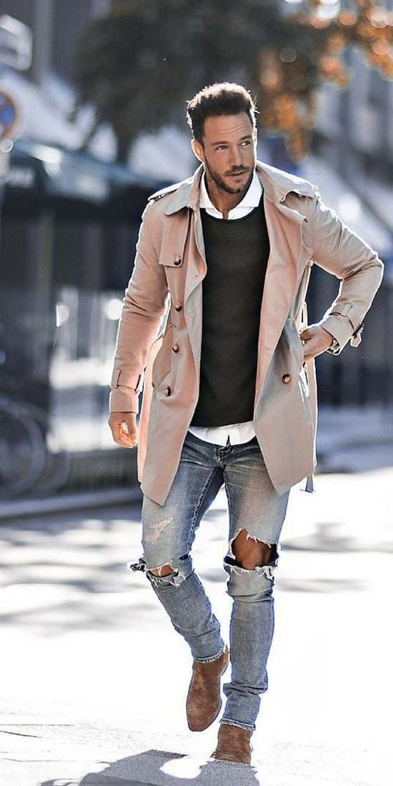 Stylish street style for men 2018