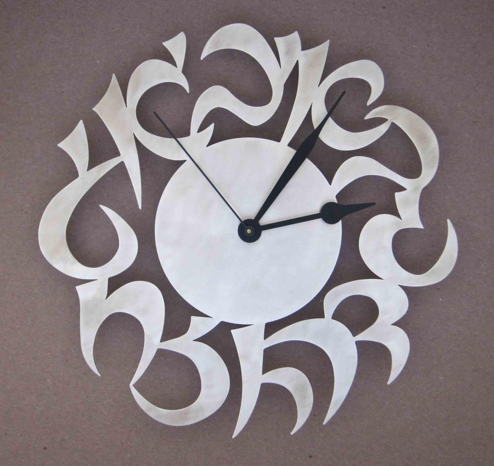 Yoyomin Wall Clock Novel Stainless Steel Clock With Knife Fork Spoon Analog Home Decoration Sil Modern Kitchen Clocks Kitchen Clocks Modern Kitchen Wall Clocks