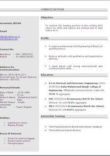 simple resume format pdf Sample Template Example ...