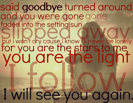 See You Again - Carrie Underwood.#Repin By:Pinterest++ for iPad#