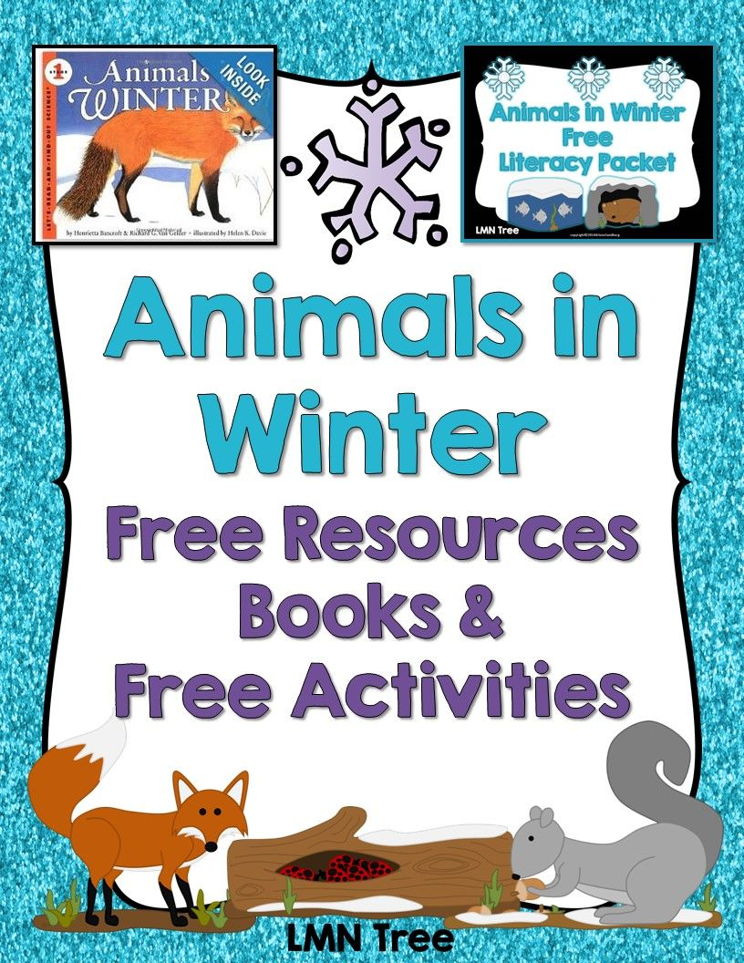 Animals in Winter: Free Resources, Free Activities, and Great Books for Read Alouds