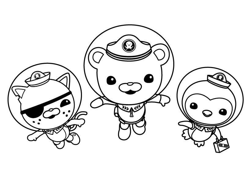 Octonauts coloring pages | Color Pages by Tiff Setzler | Pinterest ...