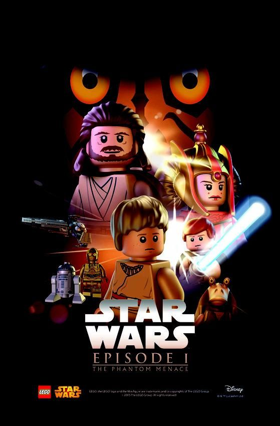 Star Wars Lego Posters Are The Bricks You Re Looking For Star Wars Movies Posters Star Wars Poster Star Wars Episodes