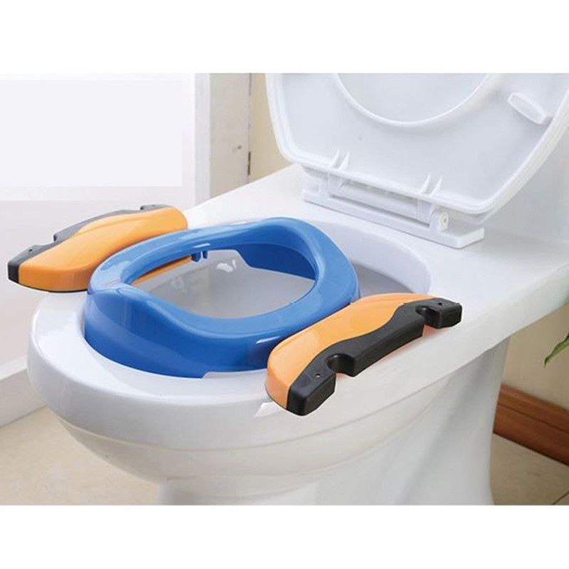Baby Plastic Portable Travel Potty Training Toilet Chair Seat For