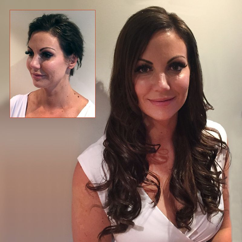 Before And After Photos Mobile Hair Extensions Sydney Hair