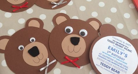 Teddy bears picnic ideas games and food