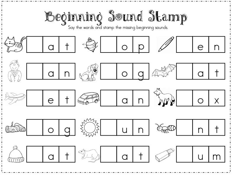 25+ Fun & Free Ideas For Kindergarten Word Work Word Work Kindergarten,  Phonics, Kindergarten Reading