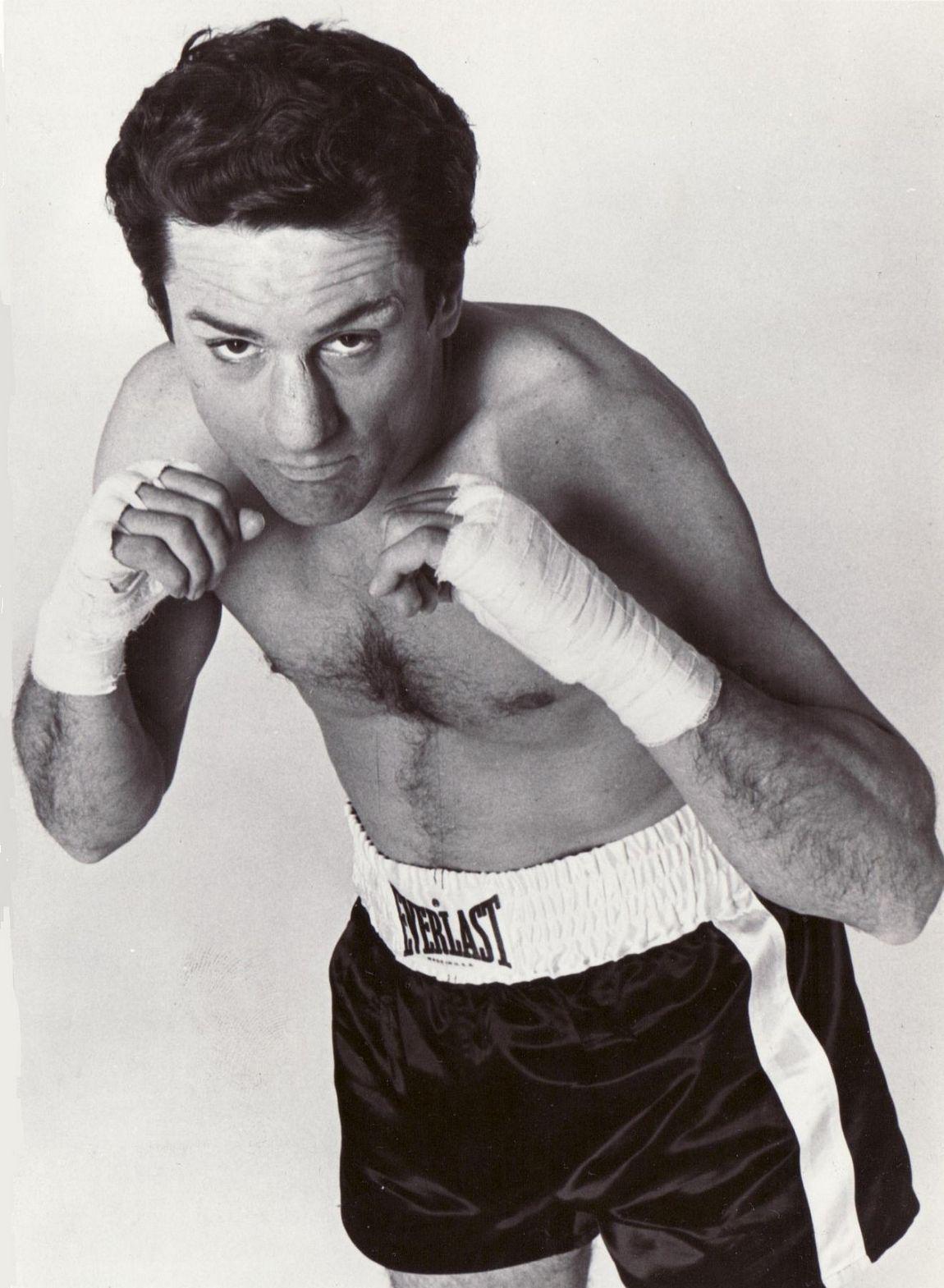 "Robert DeNiro as Jake La Motta in ""Raging Bull"", 1980"