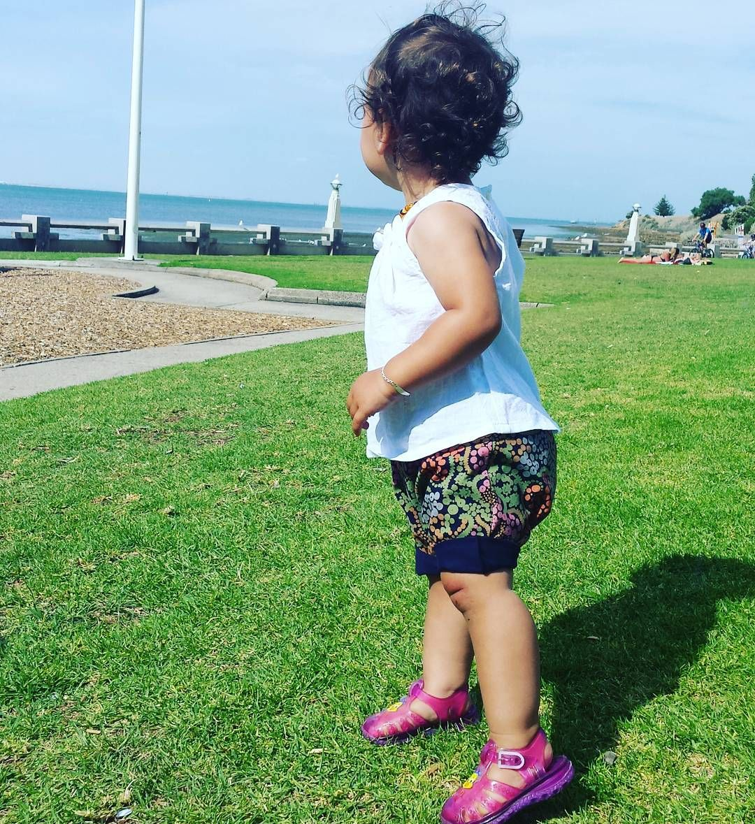 LOVE these Tribal Shorties  The fabric feels amazing and they are super soft and stretchy!  Available online Xo  #marleymia #handmade #shorties #miaellen #geelongwaterfront #kidsfashion #kidsstyle #summer #jellies by marleymia_handmade http://ift.tt/1JtS0vo