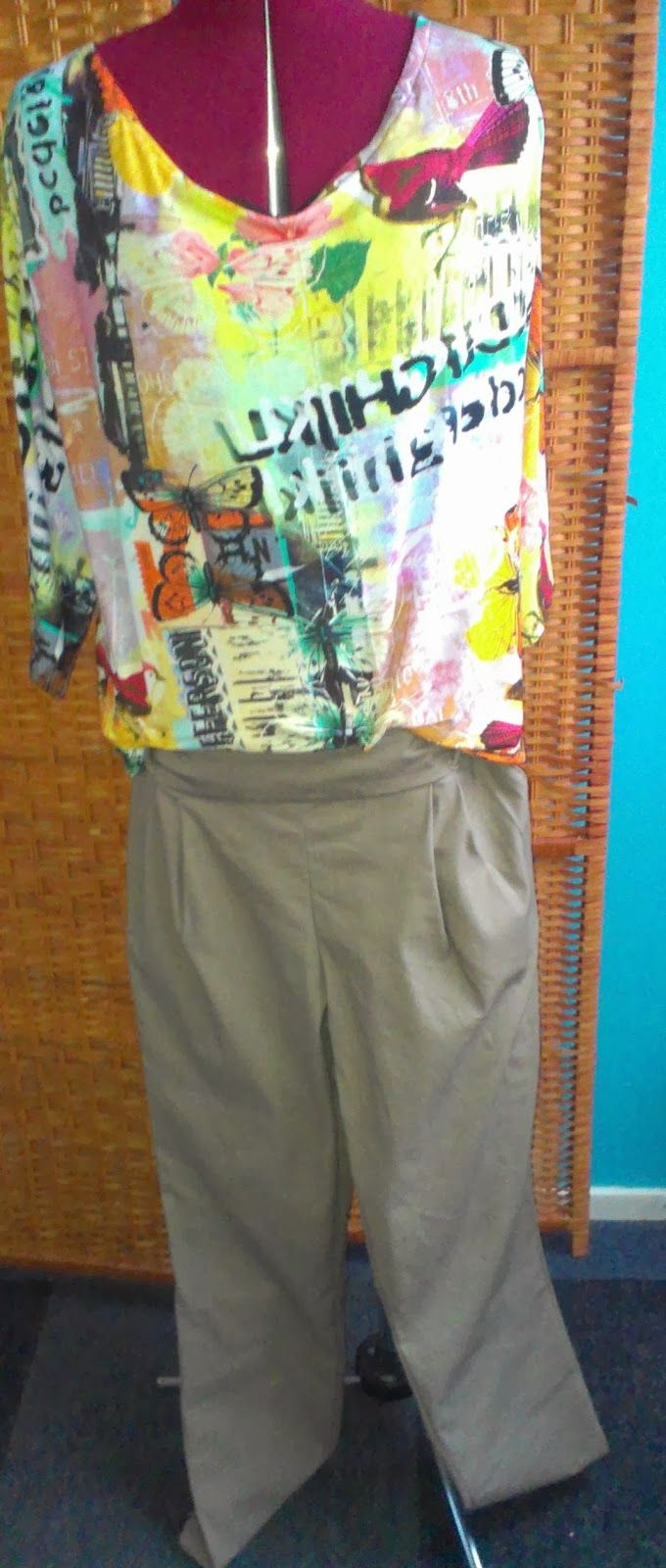 Yolanda Fashion Modevakschool: Zomersetje... maatwerk....