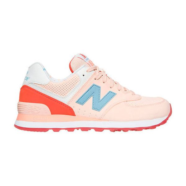 New Balance Women's 574 State Fair Casual Shoes ($60) ❤ liked on Polyvore  featuring