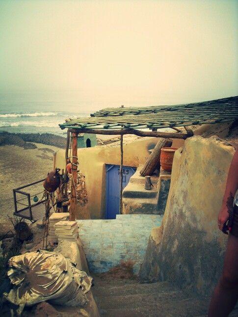 #Fisherman #House #Sea #Food #Moroccan #Coast