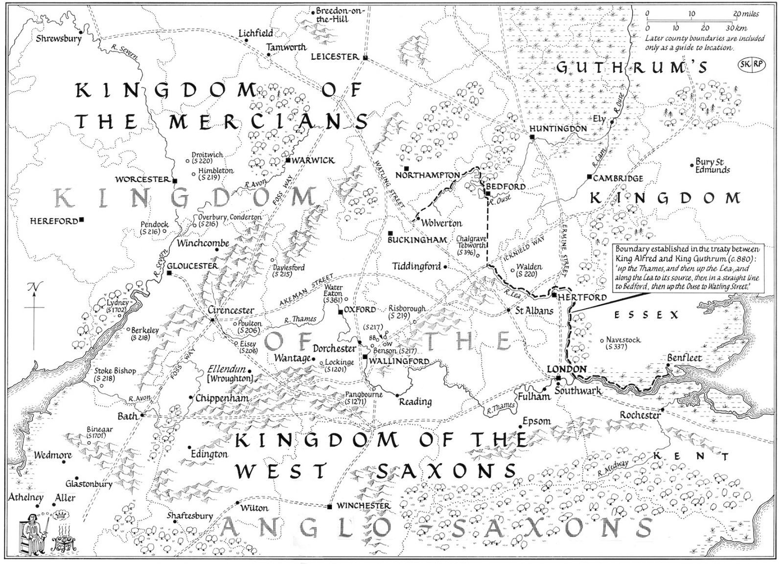 The Kingdom Of The Anglo Saxons