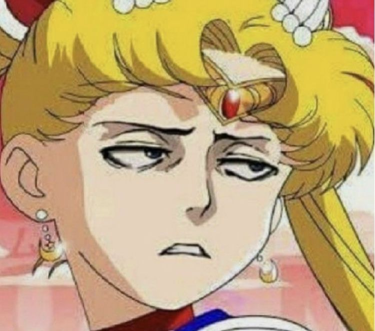 Not Impressed In 2020 Anime Funny Funny Anime Pics Anime Meme Face