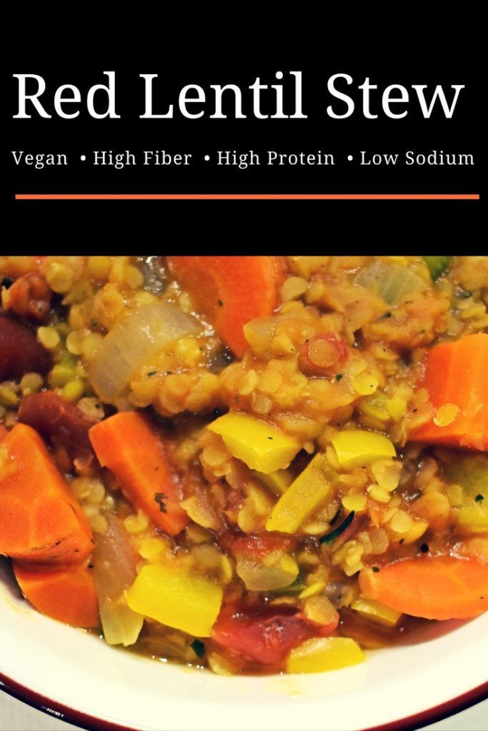 Red lentil stew a heart healthy dash diet comfort food recipe red lentil soup recipe low sodium dash diet forumfinder Gallery