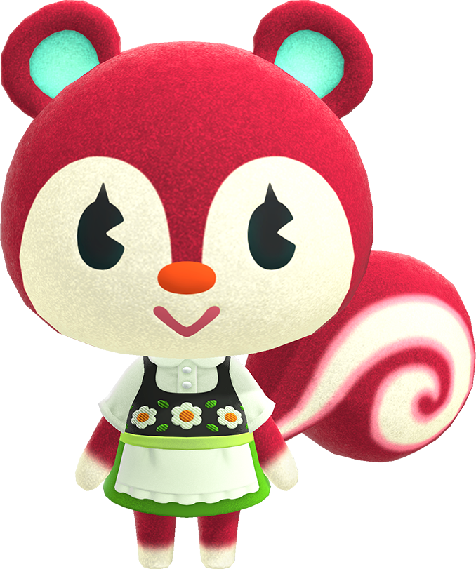 Poppy (normal) in 2020 Animal crossing villagers, Animal
