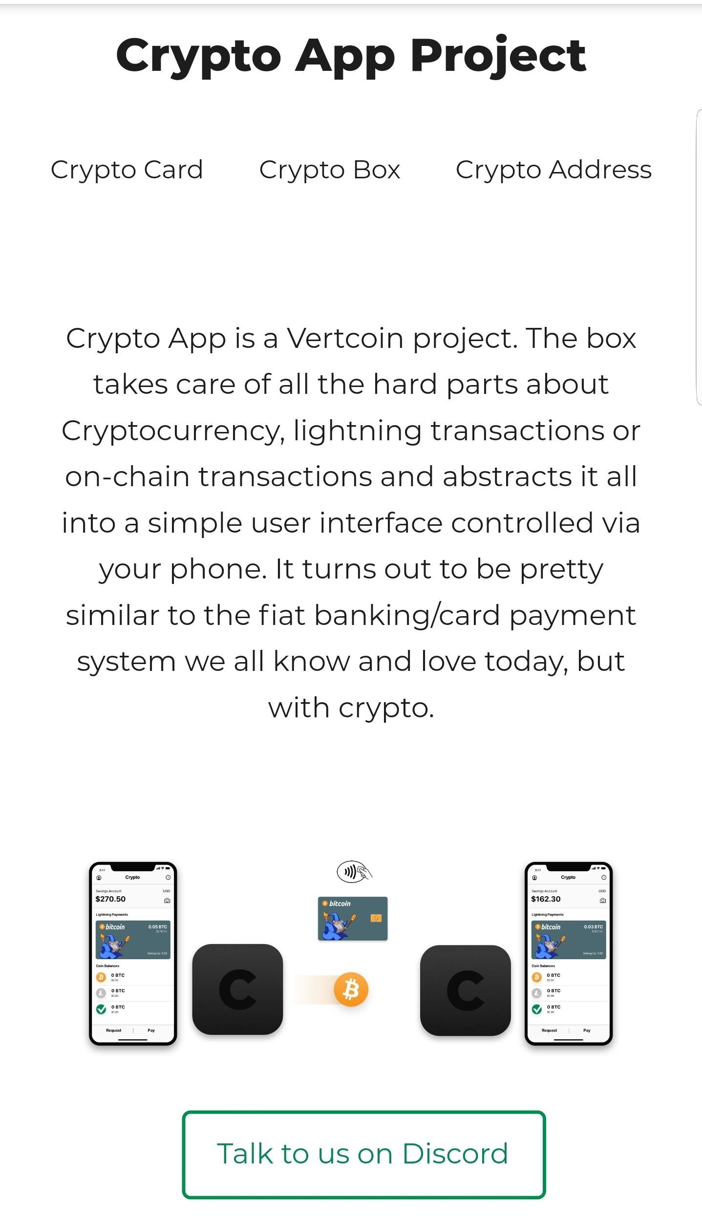 CryptoCurrency Any other similar projects to this