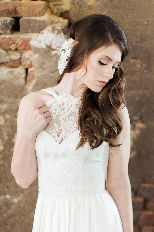 Crystal Studded Romance Styled Shoot Charleston Sc Natural Wedding Makeup