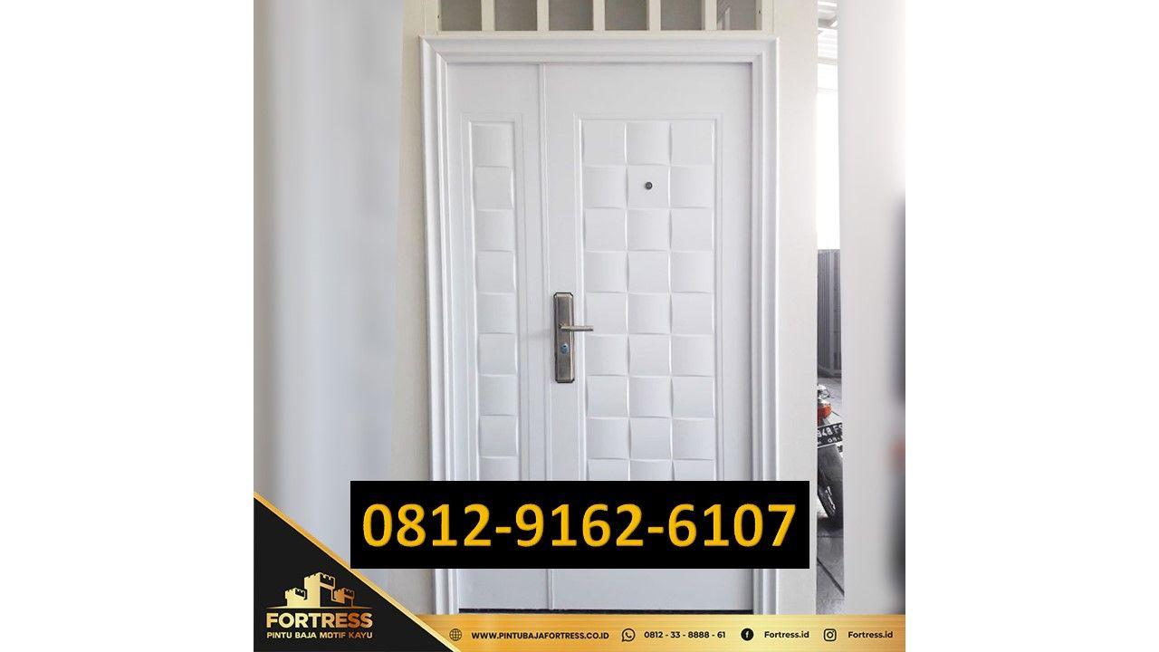 0812-9162-6107 (FORTRESS), Minimalist Iron Door Prices