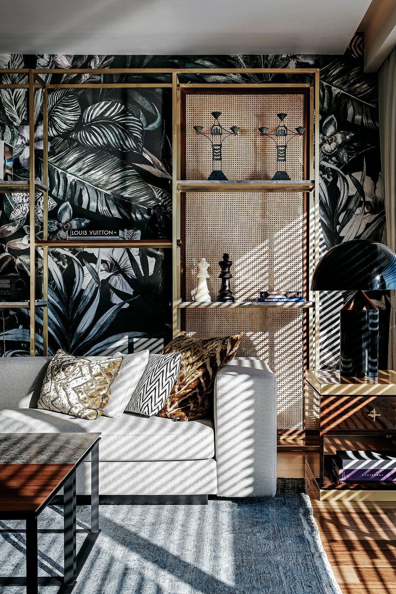 escape from sofa design / khalkedon penthouse, kadıköy istanbul, Wohnzimmer dekoo
