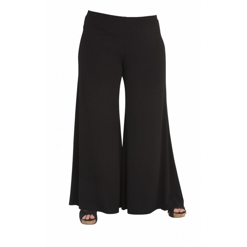 All Clothing Plus Size Slimming Flare Pants - Regular Length  my favorite pants