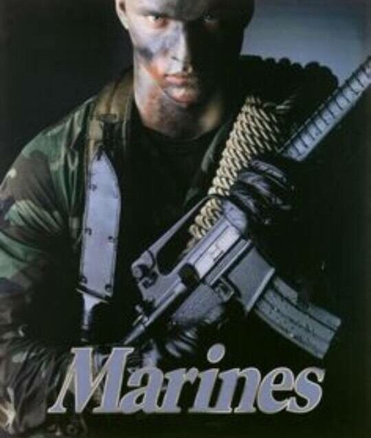 Marine Corp Recruiting Poster Of Late 80 S Early 90 S My Era Marines Us Marine Corps United States Marine Corps