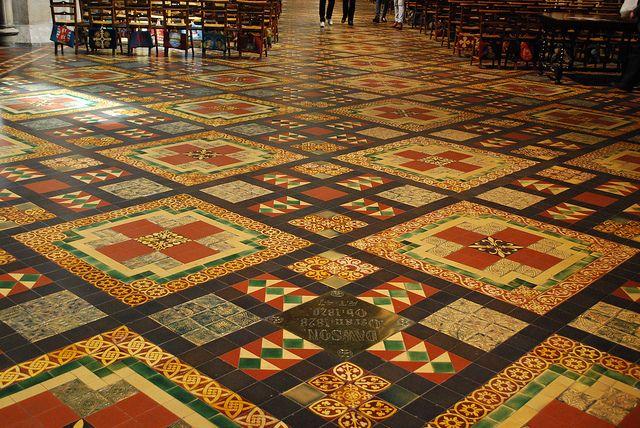 Dublin St Patrick S Cathedral Floor Tiles St Patricks Cathedral St Patrick Tile Floor