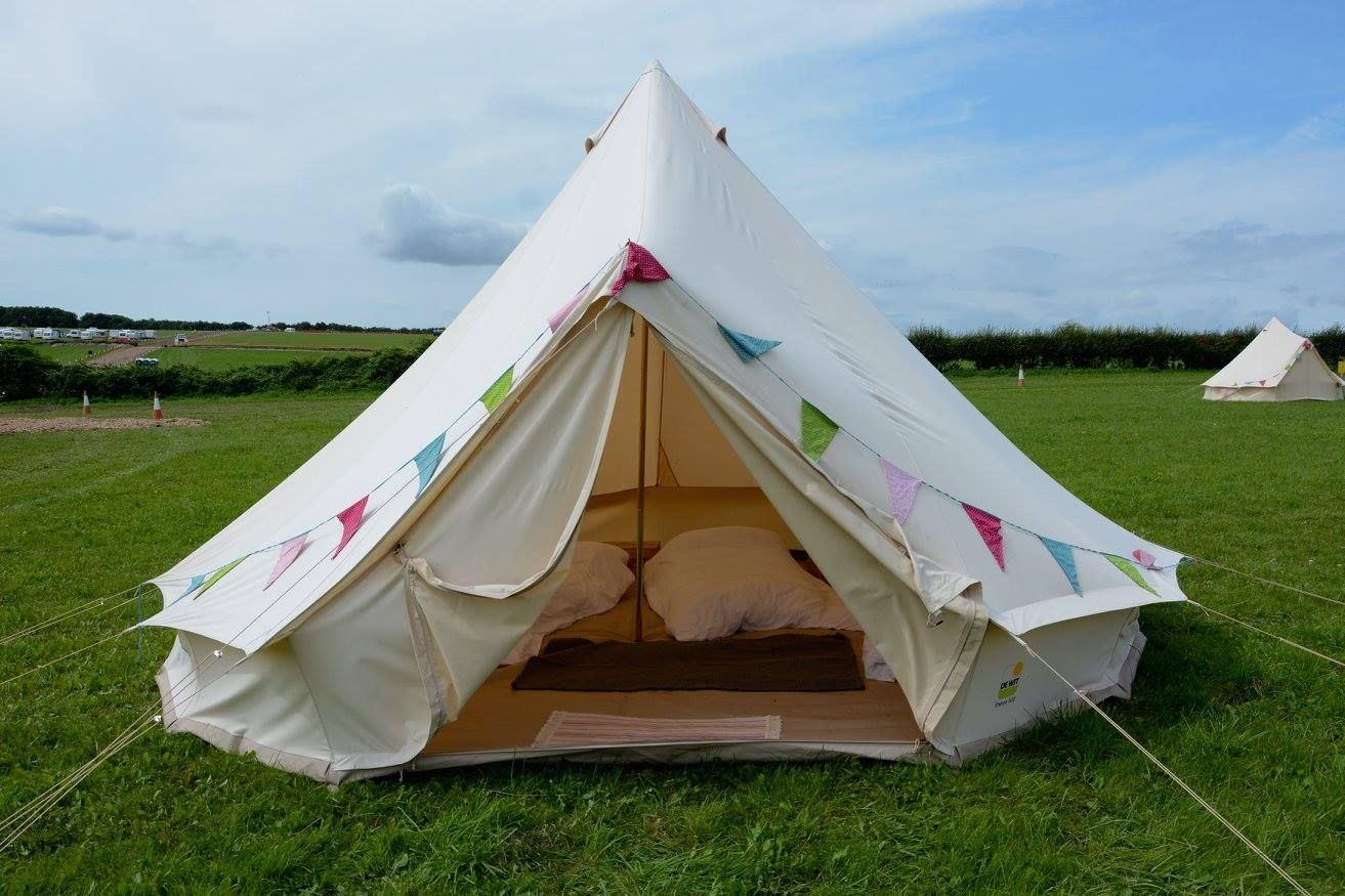 One of the luxury bell tents available for hire in the Zooloos area - Great Dorset & One of the luxury bell tents available for hire in the Zooloos ...