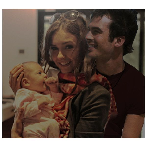 Damon and Elena Delena family baby pregnant Ayla found on