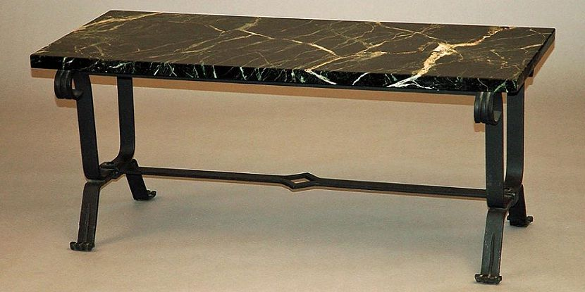 Black Granite Sofa Table