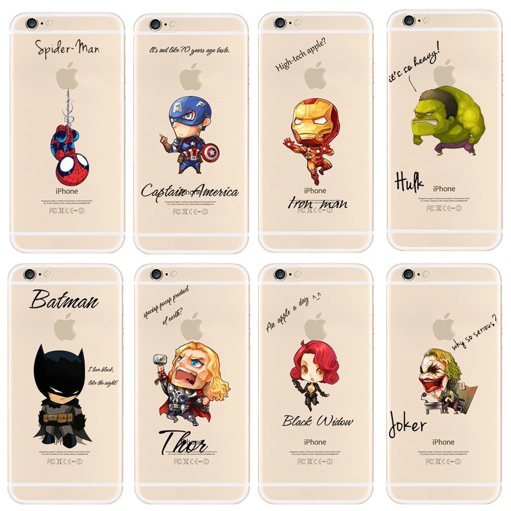 sports shoes 7bdfd aae6b New Arrival Case For iPhone 6s 6 Cool Marvel's The Avengers Pattern ...