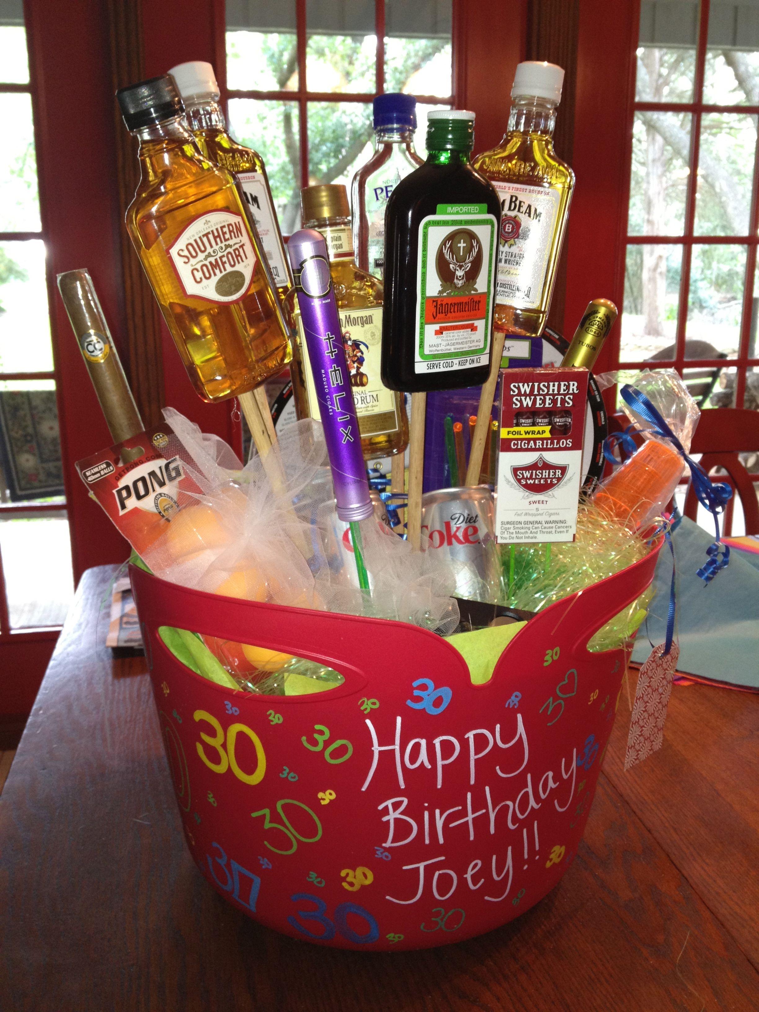 Joeys 30th Birthday flowers for a man  Birthday Ideas  30th birthday parties Birthday