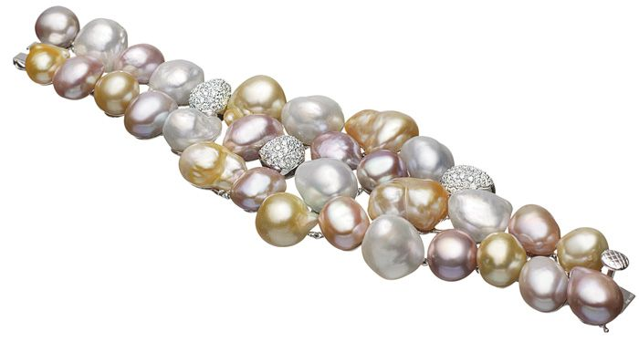 Mikimoto Baroque bracelet