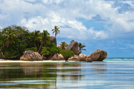Paisajes increíbles en las Seychelles