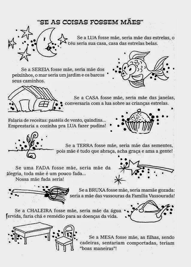 Pin De Patricia Carmo Em Atividades Texto Dia Das Maes