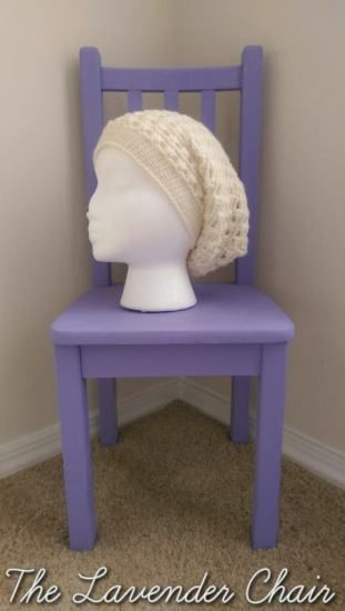 Lazy Daisy Slouchy Beanie free crochet pattern - The Lavender Chair