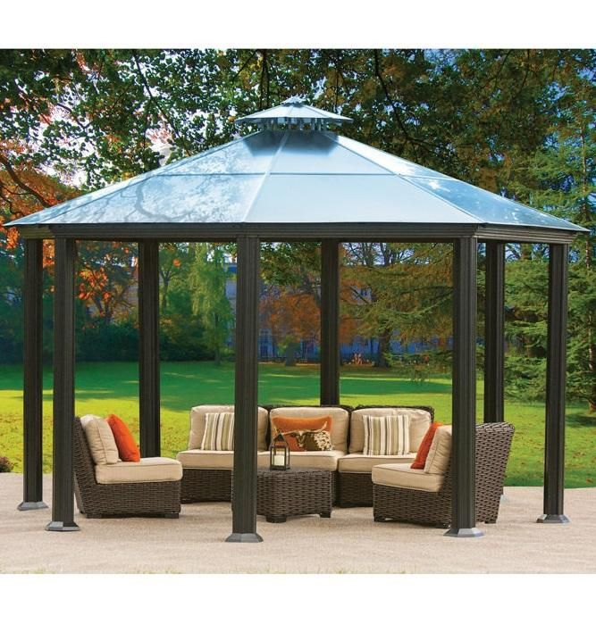 Costco Wholesale Backyard Gazebo Diy Gazebo Patio Gazebo