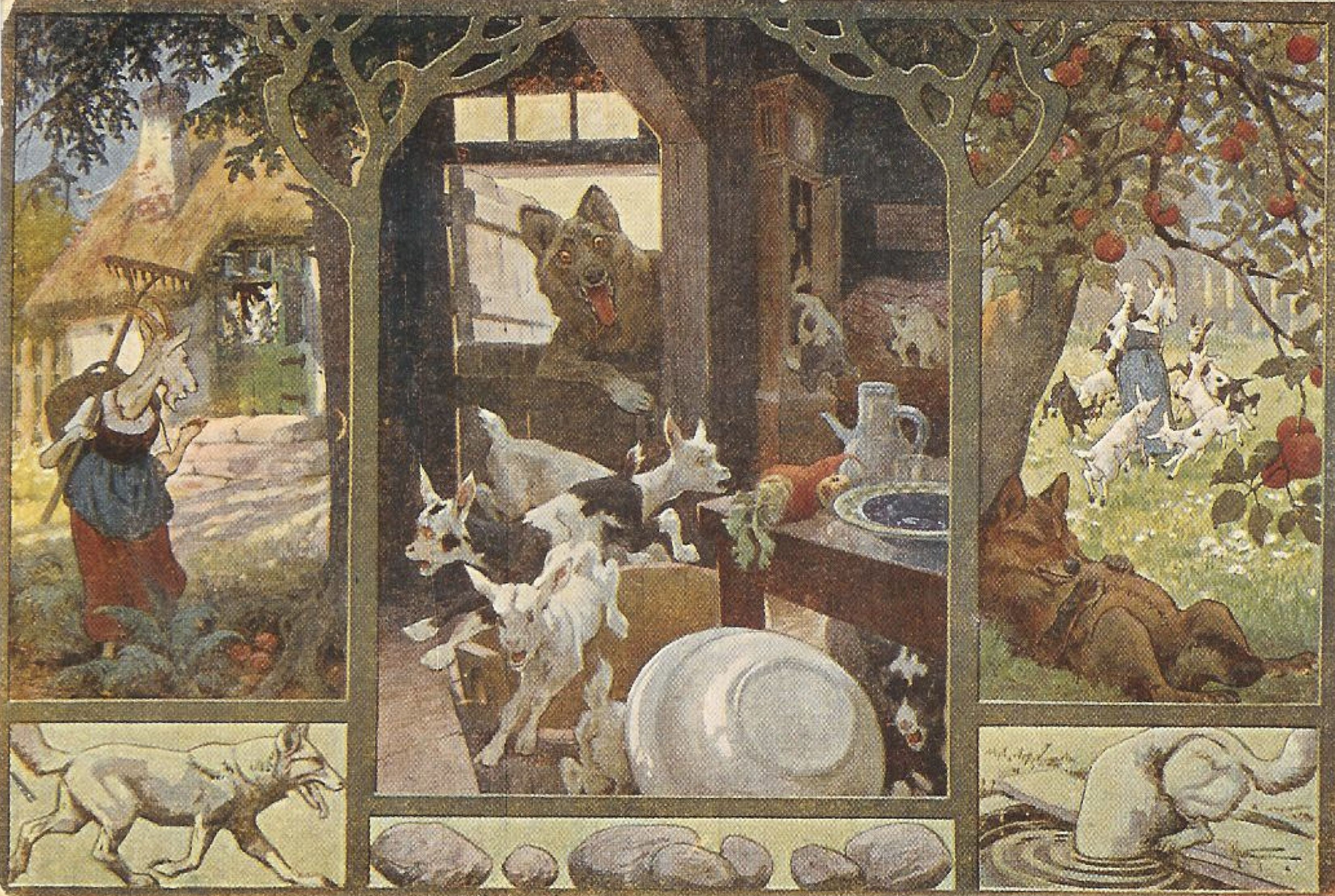 Pin By Roland Schamberger On Vogel Hermann 1854 1921 Art Fairy Tale Illustration Fairy Tales
