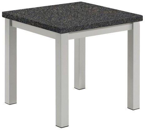 Travira Patio End Table - Powder Coated Aluminum Frame ...